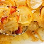 torta di patate speck e formaggio