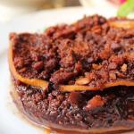 Torta di pesche e cioccolato al cucchiaio (della seco)