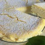 Torta di ricotta e limone gluten free