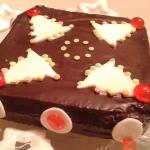 Torta glassata al cacao