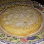 Torta impossibile al cocco e limone  con il Cuisine Companion Moulinex