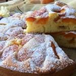 torta leggera con le albicocche