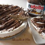 Torta mascarpone e Nutella ( veloce e senza cottura)