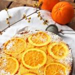 Torta pand'arancio rovesciata