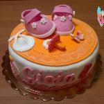 Torta per neonata
