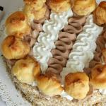 Torta Saint Honorè con Dolcetto Dark