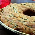 Torta salata con fagiolini