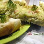 Torta salata di broccoli, patate e tonno