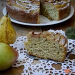 torta soffice ricotta e pere