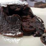 Tortino al cioccolato dal cuore cremoso ( senza glutine)
