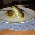 Tortino di patate con cuore di robiola