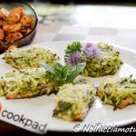 trancetti di trota in crosta di zucchine