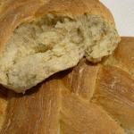 Treccioni di pane fatto in casa, con germe di grano, crusca e mix di semi