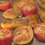 Verdure ripiene al forno