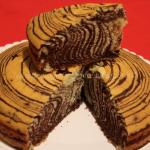 Zebra Cake, ovvero Torta zebrata