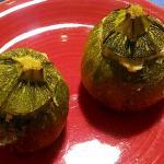 zucchine ripiene di salmone e ricotta (bimby)