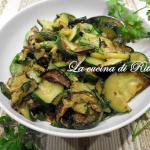 Zucchine trifolate all'aceto