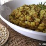 Zuppa d'orzo e lenticchie di Castelluccio