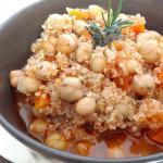 Zuppa di ceci e quinoa
