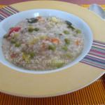 Zuppa di farro e verdure