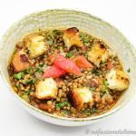 Zuppa di lenticchie di castelluccio di norcia igp