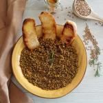Zuppa di lenticchie e curcuma