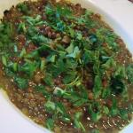 zuppa speziata di lenticchie