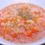Zuppa Speziata di Quinoa e verdure