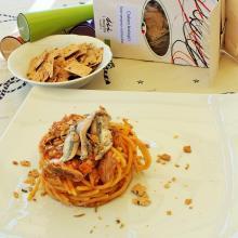 acciughe e spaghetti, ultimo sole estivo