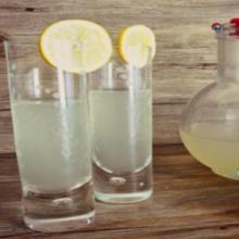 Bevanda limone e salvia