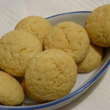 Biscottini friabili al limone