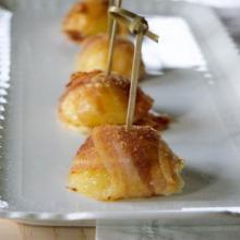 bocconcini di patate pancetta e scamorza