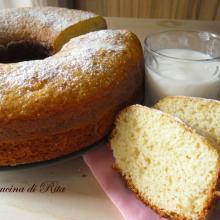 Ciambella allo yogurt (ricetta classica) / yogurt donut