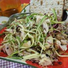 Coniglio in insalata