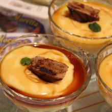 Coppette con crème caramel e Moretta Karamel