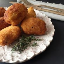 crocchette di zucca, patate e carote