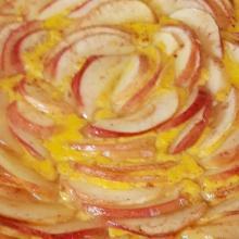 Crostata cremosa alle mele