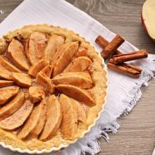 crostata di mele e confettura
