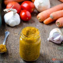 Dado vegetale fatto in casa – ricetta con e senza bimby