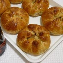 Fagottini integrali con mele e profumo di cannella