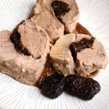filetto di maiale alle prugne (bimby)