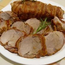 Filetto di maiale con bacon