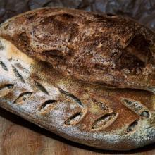 filoncino rustico del contadino, con farina di frumento tenero di tipo 2