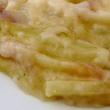 Finocchi al latte e formaggio sbrinz
