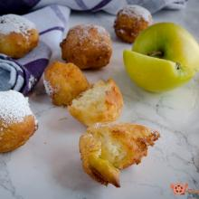 frittelle alle mele e ricotta – ricetta facile e gustosa