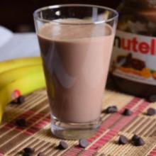Frullato banana e nutella (bimby)