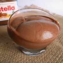 gelato cremoso alla nutella