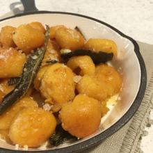 Gnocchi di patate e zucca