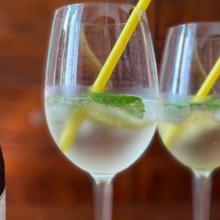 Hugo cocktail fresco dell'alto adige