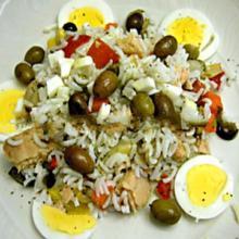 insalata di riso tonno e uova
